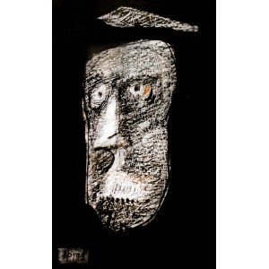 Abrar Ahmed , 4.5 x 06 Inch, Mixed Media on Card, Figurative Painting, AC-AA-040