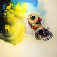 Hussain Chandio, Acrylic on Canvas, 36 x 36 Inch, Figurative Painting-AC-HC-047